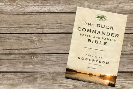 Book Review - Duck Commander Bible